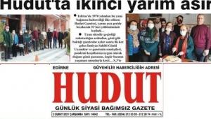 Edirne Hudut gazetesi 51 yaşında