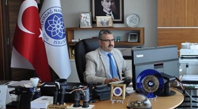 TNKÜ REKTÖRÜ PROF. DR. MÜMİN ŞAHİN'E ÖNEMLİ GÖREV