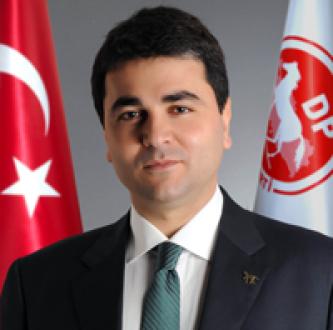"""DEMOKRAT PARTİ GENEL BAŞKANI GÜLTEKİN UYSAL""""TÜRK MİLLETİ HEP VAR OLACAK!"""""""