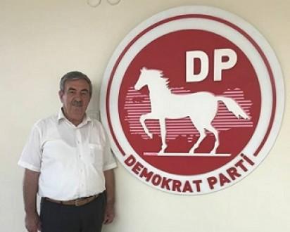 """DEMOKRAT PARTİ İL BAŞKANI ÖZYILMAZ """"30 AĞUSTOS ZAFER BAYRAMIMIZ KUTLU OLSUN."""""""