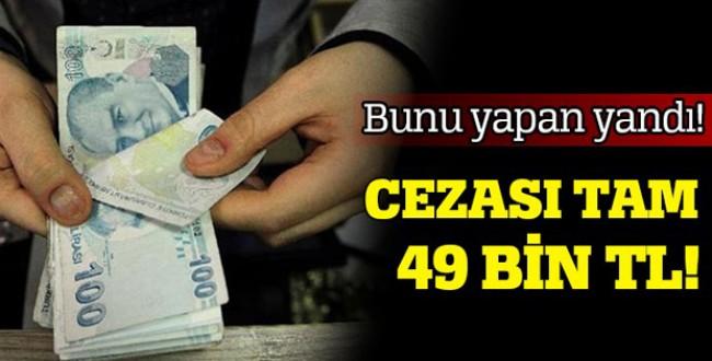SİGORTASIZ İŞÇİ ÇALIŞTIRANLAR; AMAN DİKKAT!!!