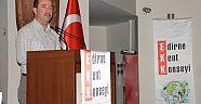 GÜRKAN, KENT KONSEYİ GENEL KURULU'NA KATILDI