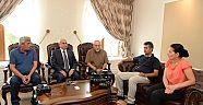 TGD'DEN VALİ ŞAHİN'E İFTAR DAVETİ