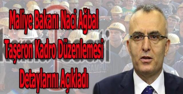 TAŞARONLARIN KADROYA ALINMASIYLA İLGİLİ BAZI ŞARTLAR GEREKİYOR!!!